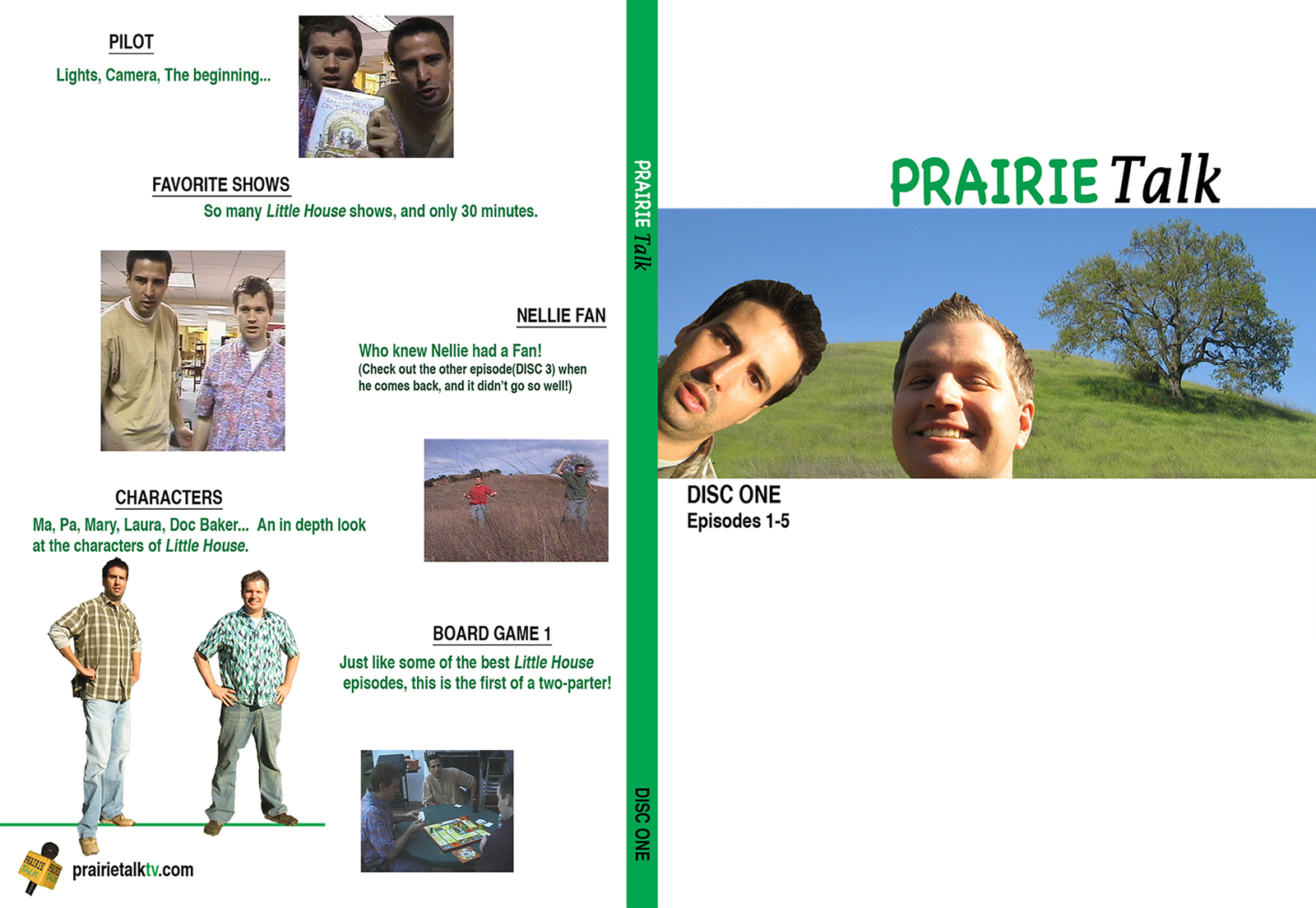 Prairie Talk DVD - Cover #1