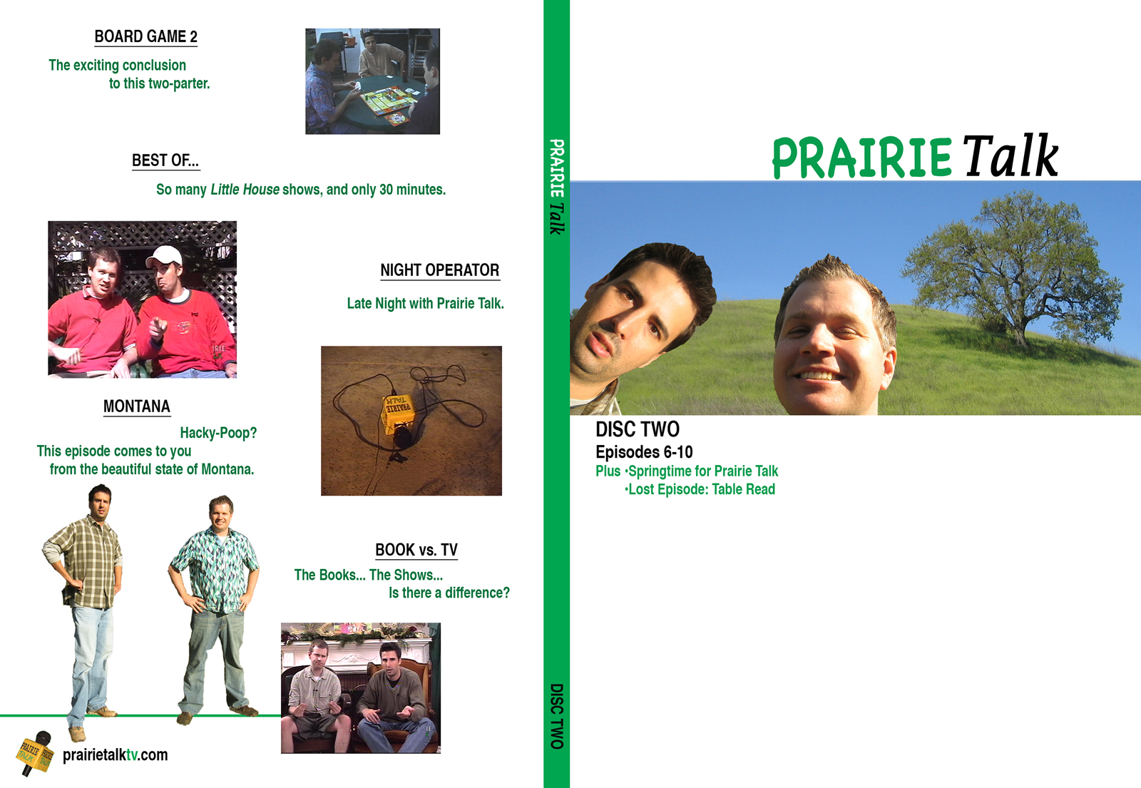 Prairie Talk DVD - Cover #2