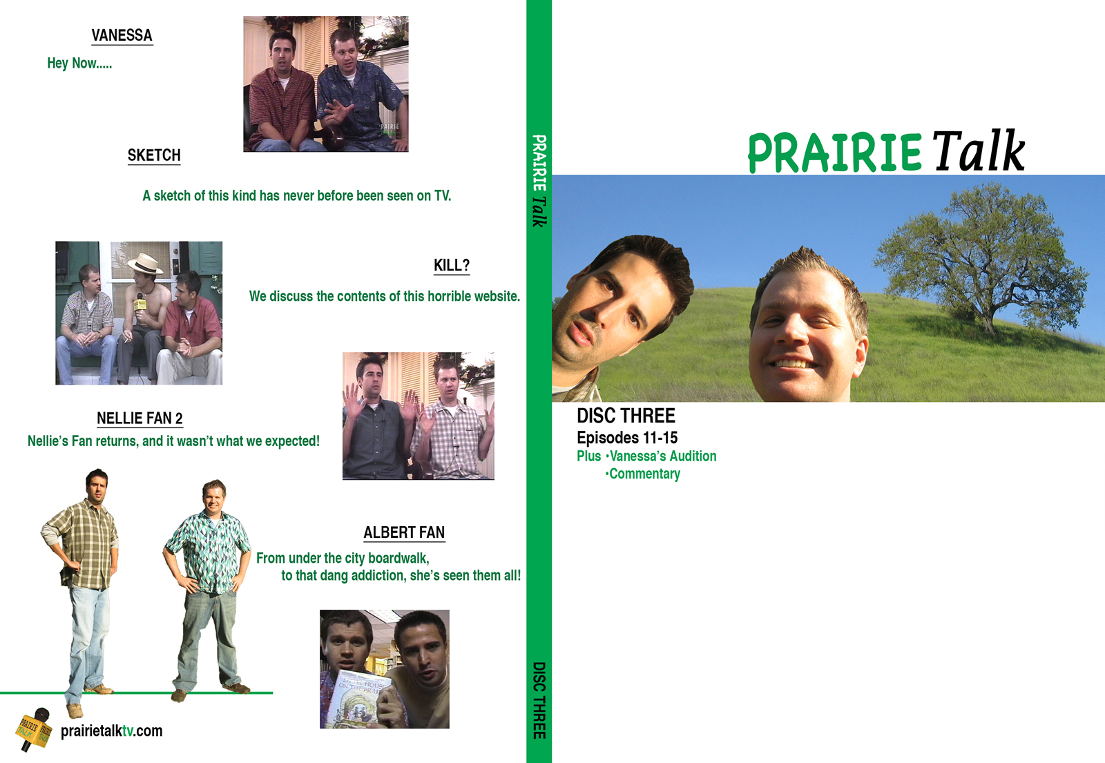 Prairie Talk DVD - Cover #3