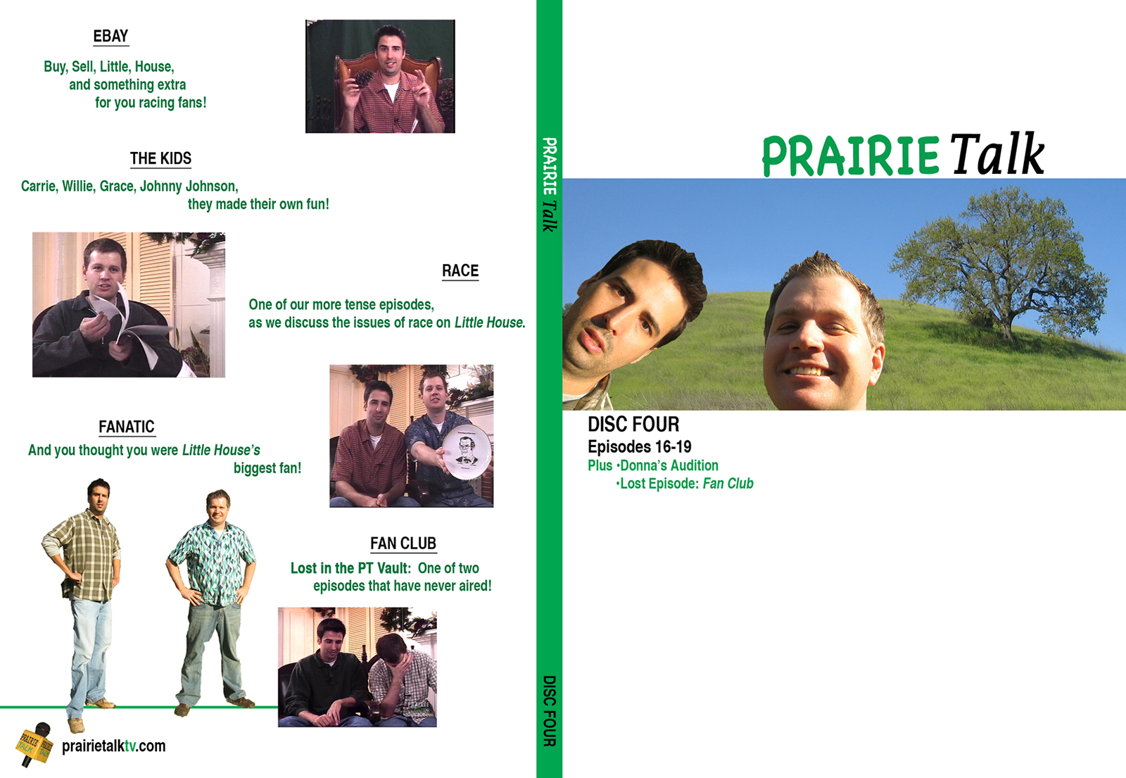 Prairie Talk DVD - Cover #4